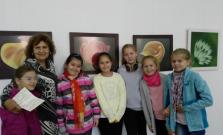 Stretnutie s bardejovskou výtvarníčkou Annou Beňovou