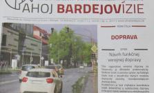 Najnovšie vydanie vášho mesačníka sa venuje doprave v Bardejove