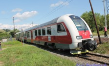 Výluka na trati medzi Raslavicami a Kapušanmi