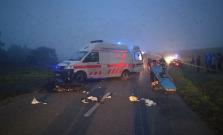 Vážna dopravná nehoda smerom na Šibu, čaká sa na záchranársky vrtuľník