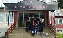 Školáci z Bardejova zorganizovali zbierku pre Detský domov vo Svidníku