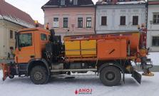 Šesť vozidiel bude v Bardejove pomáhať so zimnou údržbou