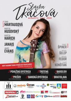 SLÁVKA TKÁČOVÁ - ACOUSTIC TOUR 2018