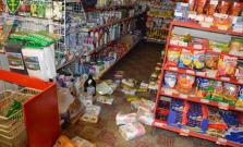 Objasnená krádež v potravinách