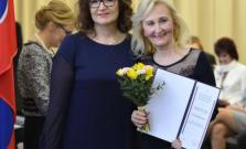 Najvyššie rezortné ocenenie pre Evu Kurnátovú, riaditeľku Spojenej školy na Štefánikovej ulici v Bardejove