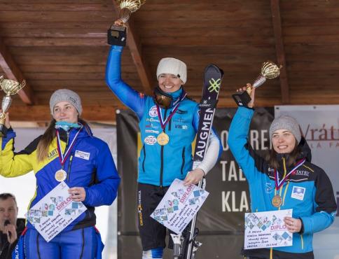 Vynikajúca Kravcová na Majstrovstvách Slovenska a ukončenie lyžiarskej sezóny