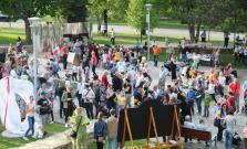 Otváranie fontán a nasvietenie dominánt Bardejova