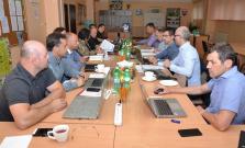 Slovenský atletický zväz rokoval v Bardejove, debatovali aj o výstavbe dráhy