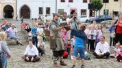Bardejov sa vrátil do trinásteho storočia, dynamické nasvietenie Radničného námestia