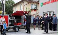 Slávnostné otvorenie Hasičskej zbrojnice vo Fričkovciach