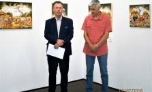 Martin Pap zo Srbska v Bardejove so skvelou výstavou