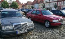 V Bardejove si dali zraz majitelia áut značky Mercedes-Benz