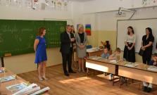 Prvý školský deň v ZŠ na Komenského ulici