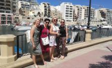 Učiteľky zo ZŠ na Wolkerovej ulici na Malte