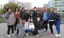 Študenti Spojenej školy na Štefánikovej ulici navštívili známy veľtrh