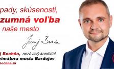 Nezávislý kandidát na primátora mesta Bardejov Juraj Bochňa predstavuje svoj program