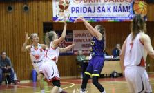 Bardejovčanky nestačili na Košice, hrou nesklamali