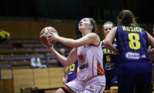 Basketbalistky hostili košických anjelov, zápas sa divákom páčil