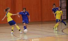 Mladé futbalistky odohrali prvé kolo doma, skončili druhé a postúpili