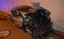 Hrôzostrašná nehoda: Bardejovčan vyletel pred tunelom do vzduchu