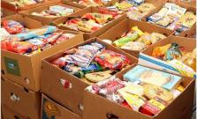 Vianočná zbierka potravín pre rodiny v núdzi. Výsledok? 5,5 ton potravín