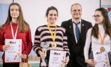 Stredoškoláčka Dominika Ferková so striebrom