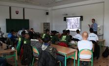 Prednáška pre študentov Spojenej školy na Štefánikovej ulici v Bardejove zaujala