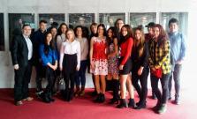 Spojená škola na divadelnom predstavení Nikola Šuhaj