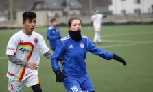 Futbalisti Malcova proti ženám Bardejova