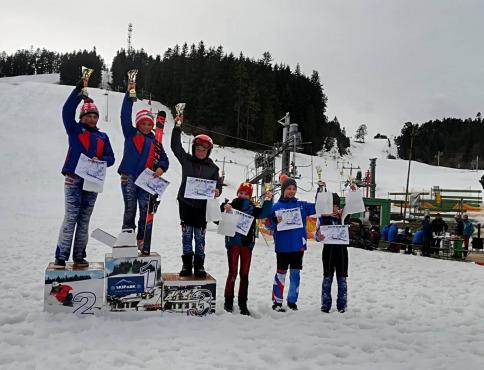Finále východoslovenskej lyžiarskej ligy v zjazdovom lyžovaní
