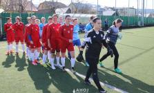 Futbalistky odohrali posledný prípravný zápas