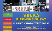 Na Rusínskom festivale budú súťažiť  deti a žiaci zo štrnástich zariadení
