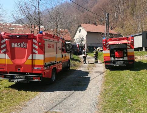 Požiar v Livovskej Hute, zasahovali mnohí dobrovoľní hasiči