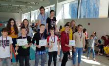 Školská plavecká liga lákala detí základných škôl