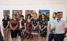 Otvorenie výstavy prác žiakov Základnej umeleckej školy M. Vileca