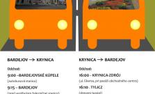 Autobusové spojenie Bardejovské Kúpele - Krynica bude fungovať aj počas nastavajúcich letných prázdnin