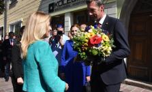 Prezidentka Zuzana Čaputová navštívila Zborov i Zborovský hrad