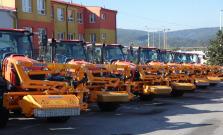 Cestári dostali 16 nových pracovných vozidiel