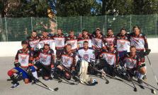 Bardejovskí hokejbalisti po troch kolách na čele tabuľky