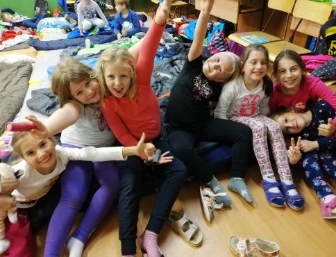 Deti zo ZŠ Komenského prežili zaujímavú noc v škole