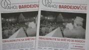 Vyšlo novembrové číslo novín, témou Nežná revolúcia