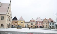 Do Bardejova dorazila zima, druhý december s prvým snehom