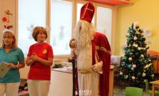 Mikuláš navštívil deti v škôlke a v škole