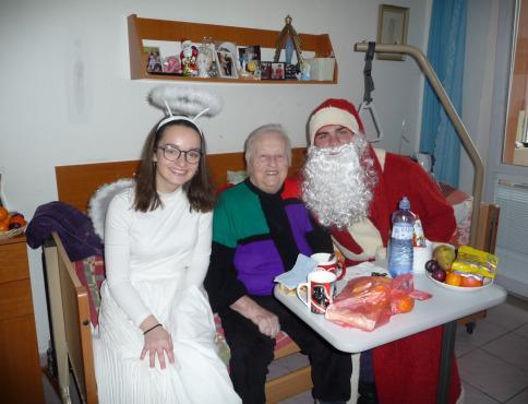 Mikuláš navštívil aj seniorov