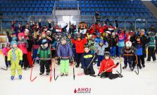 Podujatie Deti na hokej sa v Bardejove opäť vydarilo