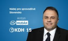 Anton Hudák: Nezaujímajú ma stranícke tričká, ale riešenia