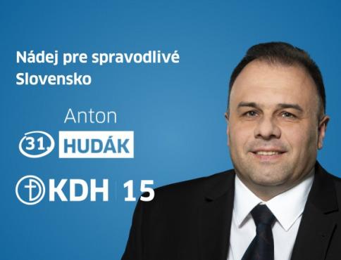 Anton Hudák: Kandidát do NR SR by mal byť silnou morálnou osobnosťou s veľkou odvahou