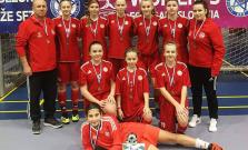 Mladé Bardejovčanky bronzové na Halovej sezóne mládeže