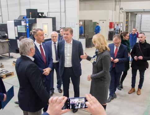 Richard Raši a Peter Žiga navštívili bardejovské firmy