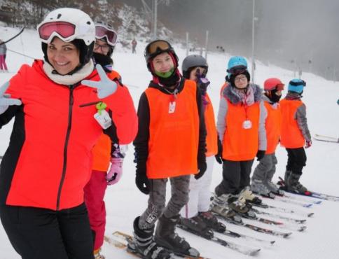 Lyžiarsky výcvik žiakov Spojenej školy dopadol na výbornú